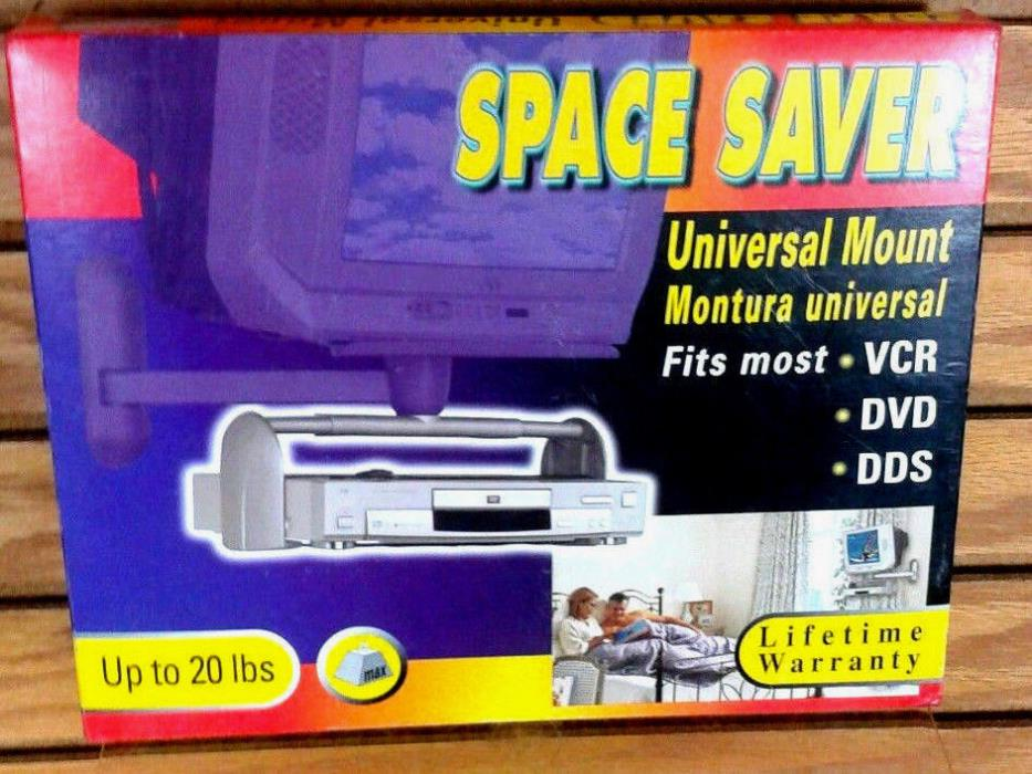Barkan Space Saver Universal Mount Rotating for DVD, VCR, & DDS players