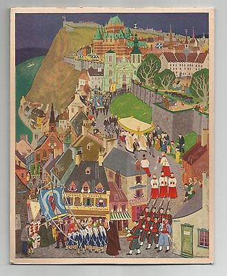 Fete-Dieu A Quebec, Jean-Paul Lemieux, Rous & Mann Press,  Art, Print / Calendar