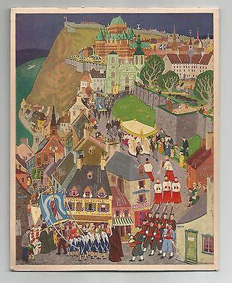Fete-Dieu A Quebec, Jean-Paul Lemieux, Rous & Mann Press,  Art, Print / Calendar