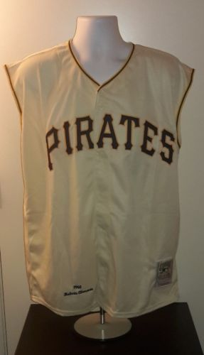 Roberto Clemente Pittsburg Pirates 1960 Mitchell and Ness Retro Jersey XL