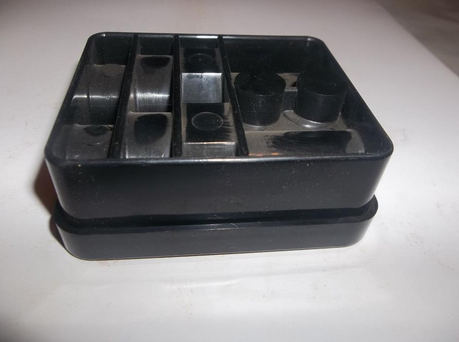 NOS vintage plug and bulb caddy