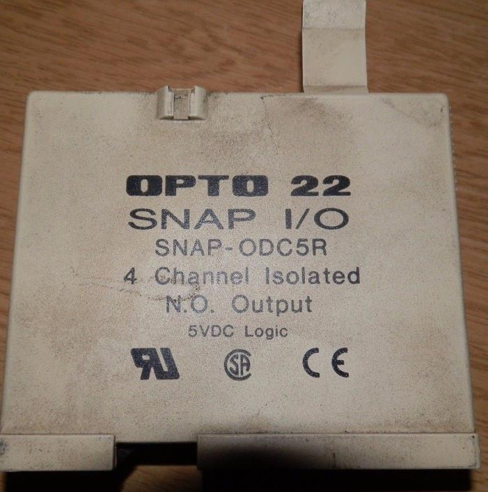 Opto 22 SNAP-ODC5R I/O Module Relay 4 Channel Output