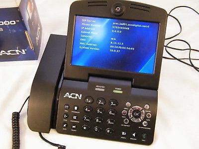 ACN IRIS 3000 VIDEO PHONE VOIP Digital Internet Video Phone