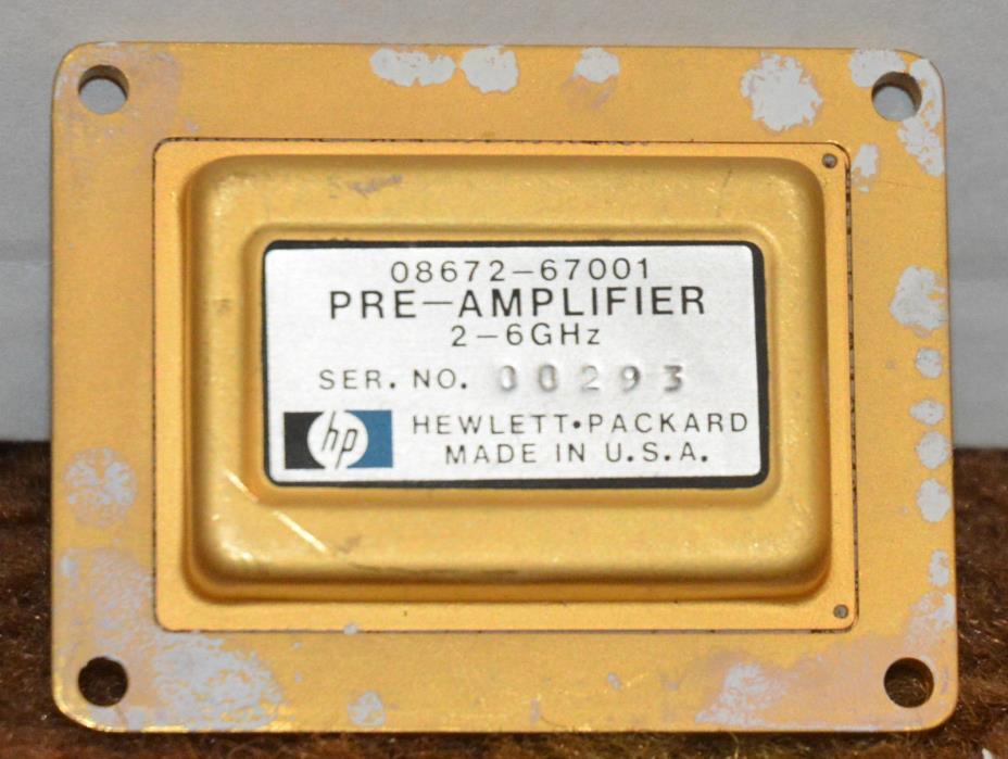 Hewlett Packard 08672-67001 - 2 to 6 GHz Pre-Amplifier for HP 8672A