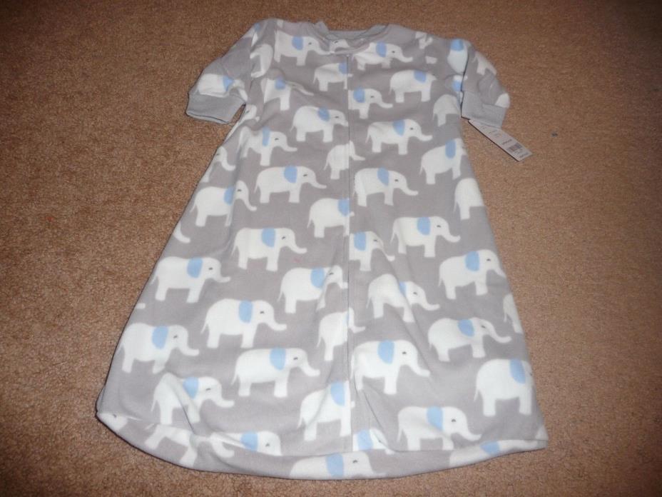NWT Carter's Baby Boy's Microfleece Sleepbag Sleepsack Sleepwear-Size 0-3 Months