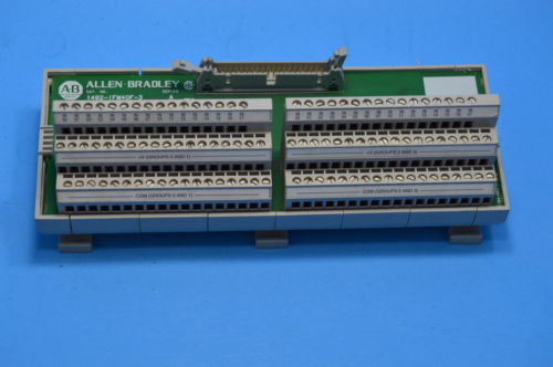 USED ALLEN BRADLEY 1492-IFM40F-3, 40 POINT INTERFACE MODULE SER. A, 0-60V AC/DC,