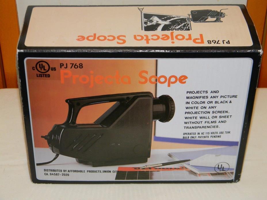 PROJECTA SCOPE PJ768 (NEW IN BOX W/INSTRUCTIONS)