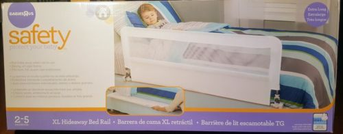 Babies R Us Extra Long Hideaway Bed Rail**New In Box**JPMA Certified**