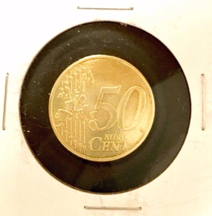 GERMANY • 50 Cent Euro 2002 • Berlin - Berlin Brandenburg Gate • Circulated