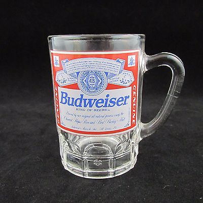 Budweiser Mug Shot Glass 3