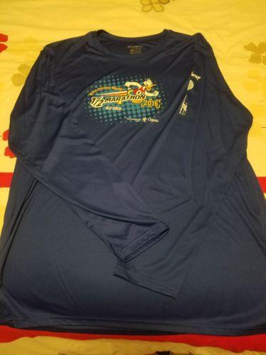 Run Disney WDW Half Marathon 2016 Race Tech Shirt Mens L