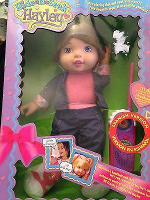 Hide n Seek Hayley (Interactive Doll) Brunette Spanish Version - RARE!!!