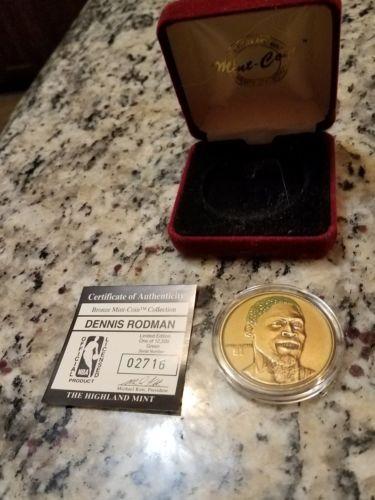 Dennis Rodman Bronze Mint Coin Collection LIMITED EDITION L@@k
