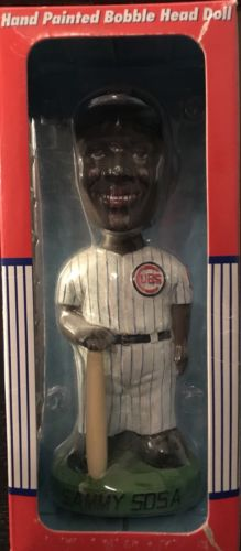 Chicago Cubs - Sammy Sosa - 2001 - Bobble Dobbles - NIB - Bobblehead