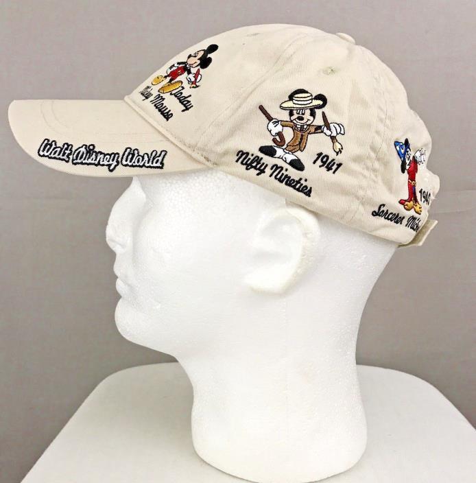 Walt Disney World Men's Stitched Mickey Mouse Cap
