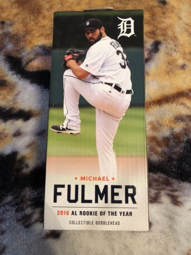 Michael Fulmer Detroit Tigers 2016  AL Rookie of the Year-Bobblehead