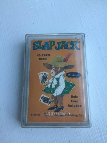 Vintage Whitman Slap Jack Card Game Sealed. NOS