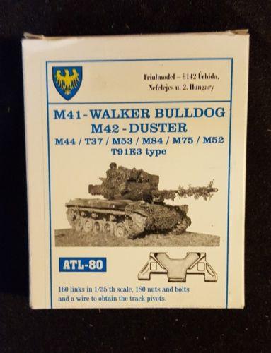 Friul Model 1:35 M41 Walker Bulldog M42 Duster Links ATL-80