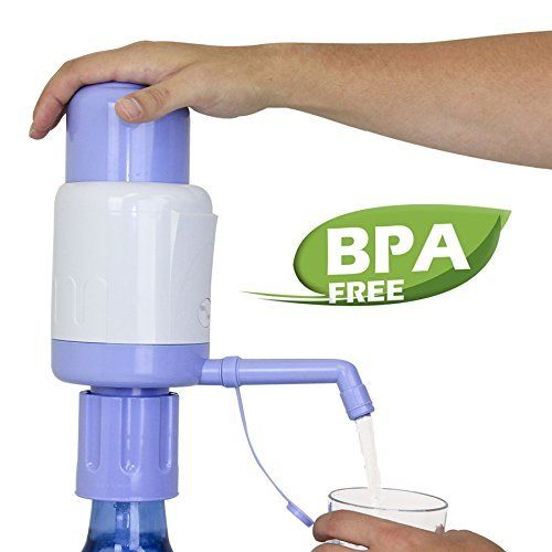 Drinking Water Pump Universal Manual with Adjustable and Bendable Tubes System