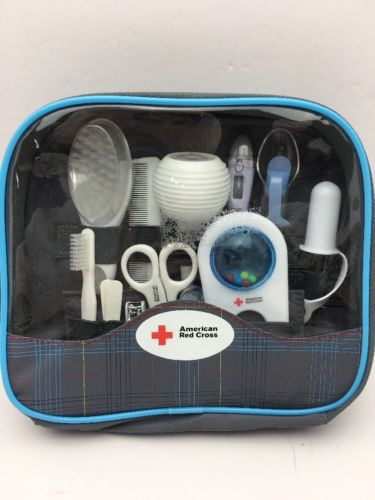 The First Years American Red Cross Baby Healthcare And Grooming Kit