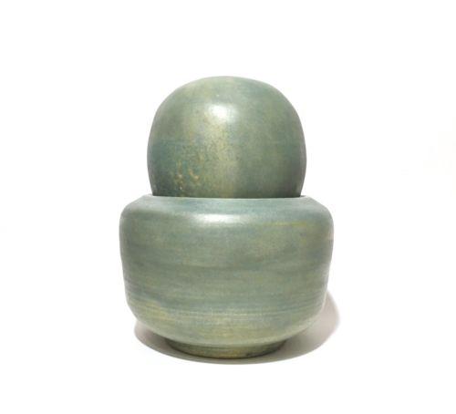 Susan Budge Postmodern Studio Pottery Mortar & Pestle Sculpture, 2002 Texas