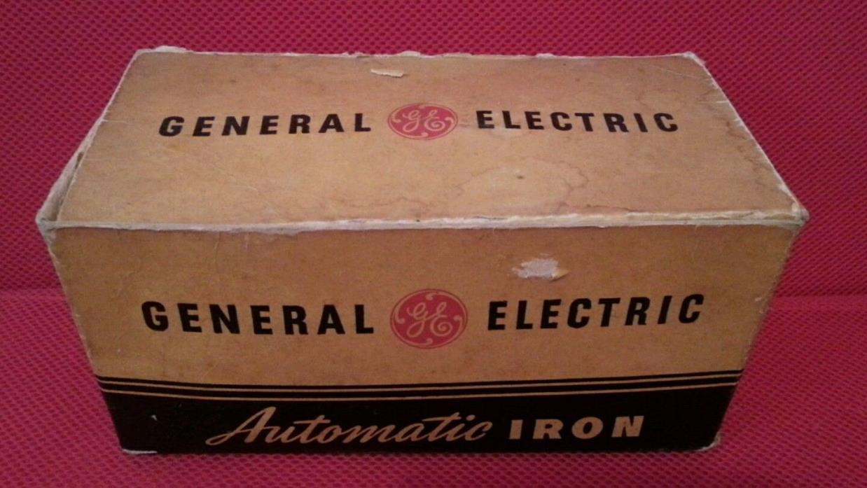 Original Box for Vintage General Electric Automatic Iron Model 119F26