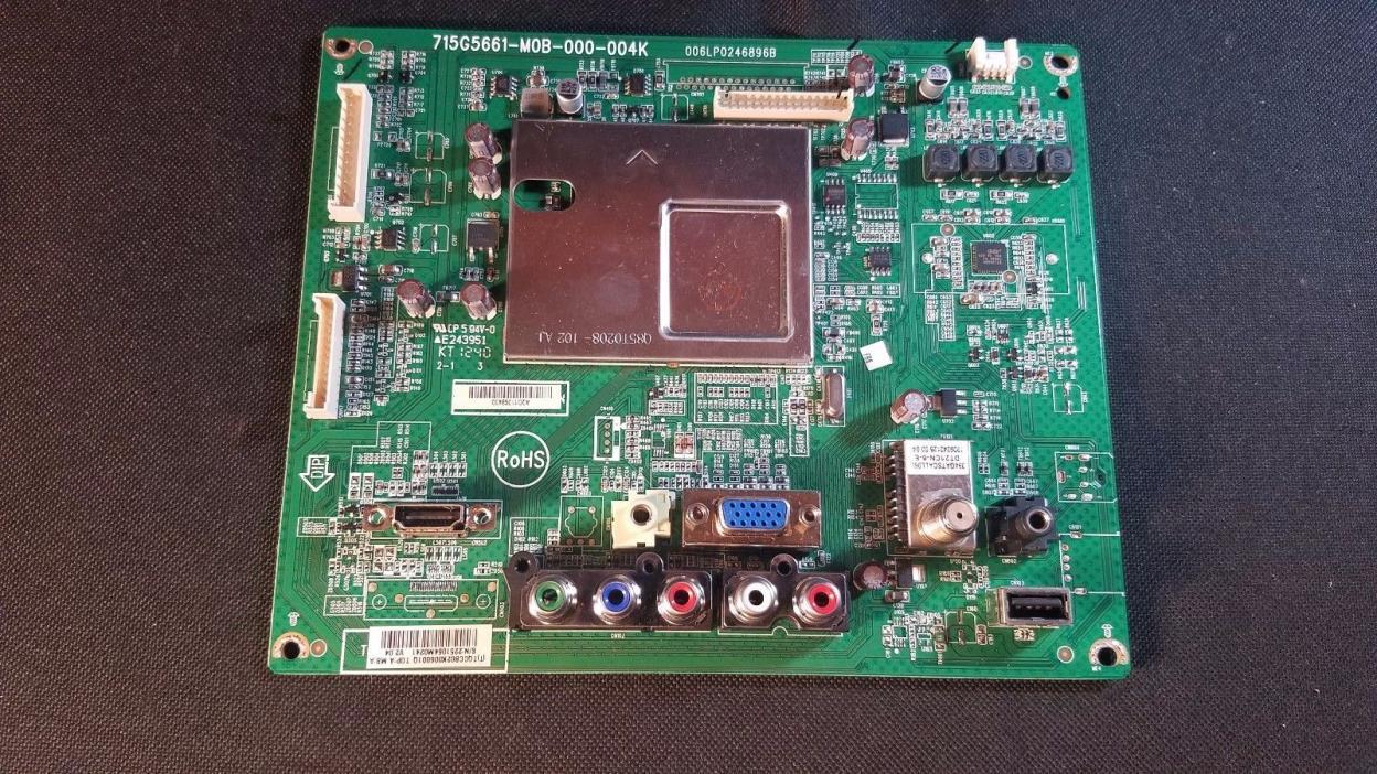 VIZIO MODEL E291i-A1 Main  Board  715G5661-M01-000-004K  SN2368739M0743