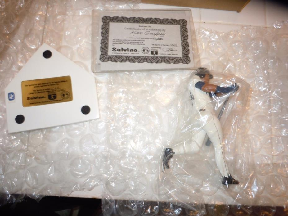 Ken Griffey Jr. Limited Edition Salvino Figurine & BGS 8.5 Topps Traded RC Card