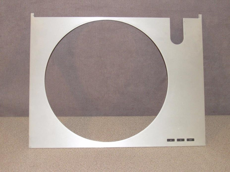 Bang & Olufsen Beogram RX 2 Turntable Aluminum Top Plate