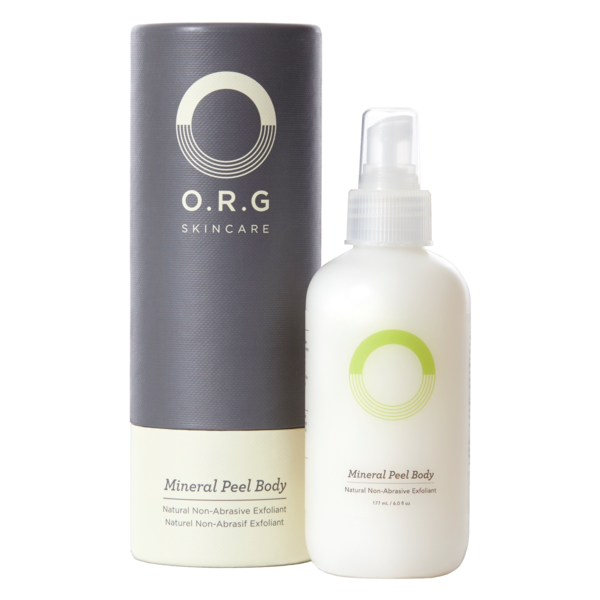 O.R.G. Skincare Mineral Peel Body, 8 oz NEW IN BOX