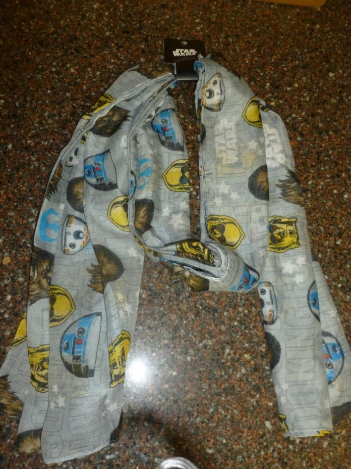 Disney Star Wars Oblong Scarf W44