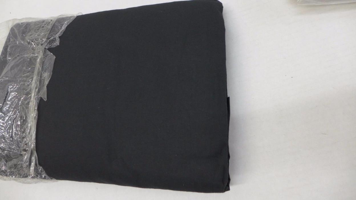 Tim West 10x12ft Black Muslin Backdrop 100% Cotton Photography Background Studio