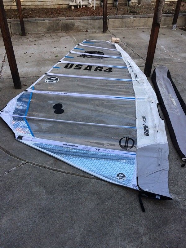 Windsurfing sail North Sail WARP 7.0m2 high quality