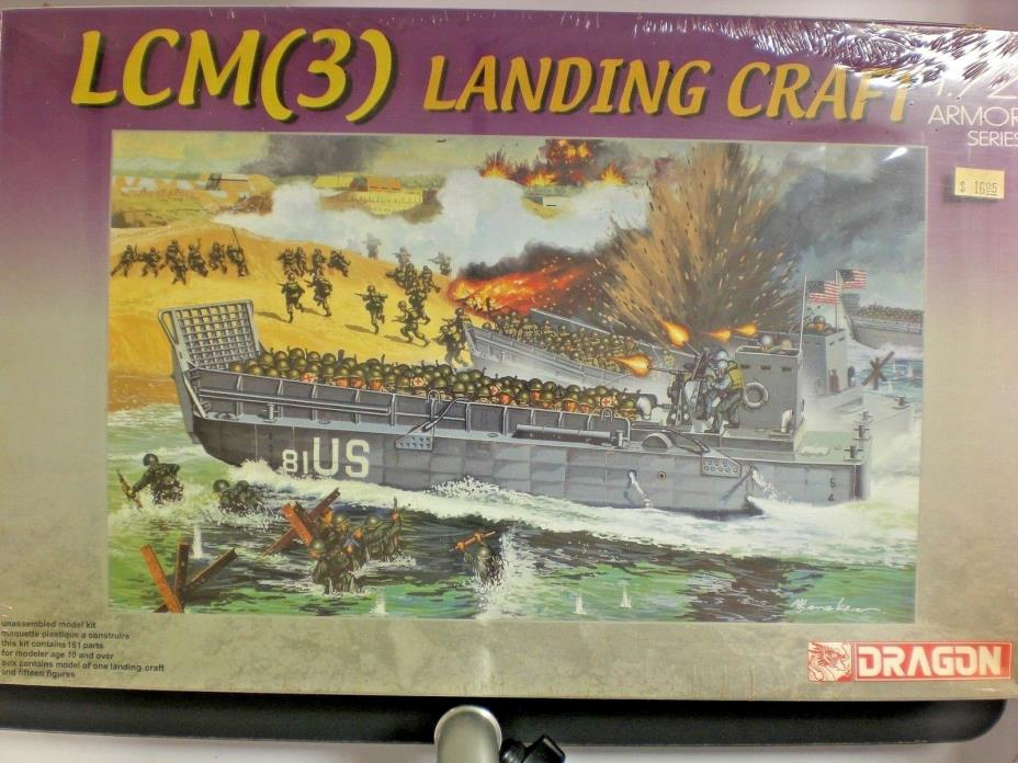 Dragon 1/72nd Scale LCM(3) Landing Craft Kit No. 7257