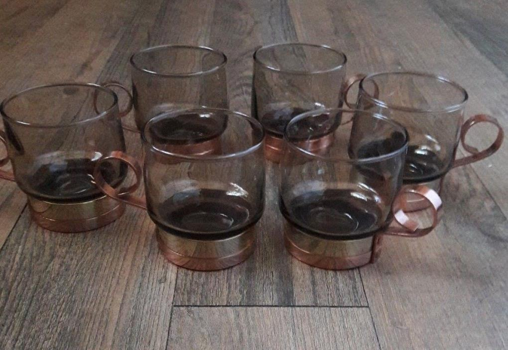 VINTAGE COBRAS BEUCLER DRINKING GLASS SET OF 6