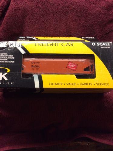 K Line K6251-1372 Milwaukee Die Cast Smooth Side Hopper 2 Bay w/coal #94554 New