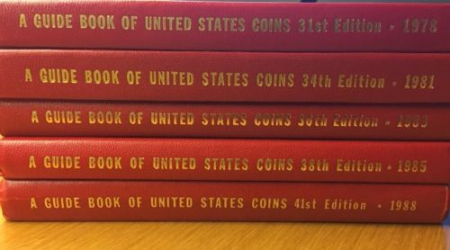 A Guide Book Handbook of United States Coins 1978 1981 1983 1985 1988