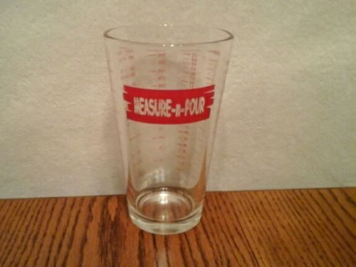 Tablecraft Measure N Pour Coctail measure glass
