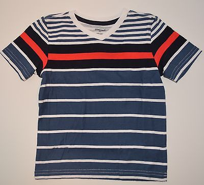 Gymboree Island Cruise 2T Red Navy Striped Tee Shirt Summer