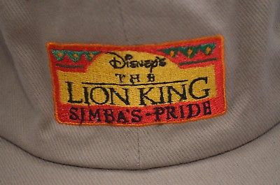Vintage Disney's The Lion King Simba's Pride Adjustable Hat