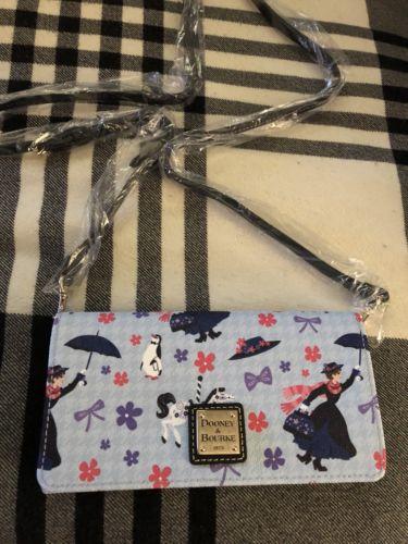 Disney Parks MARY POPPINS Dooney And Bourke Wallet Crossbody Hand Bag NWT