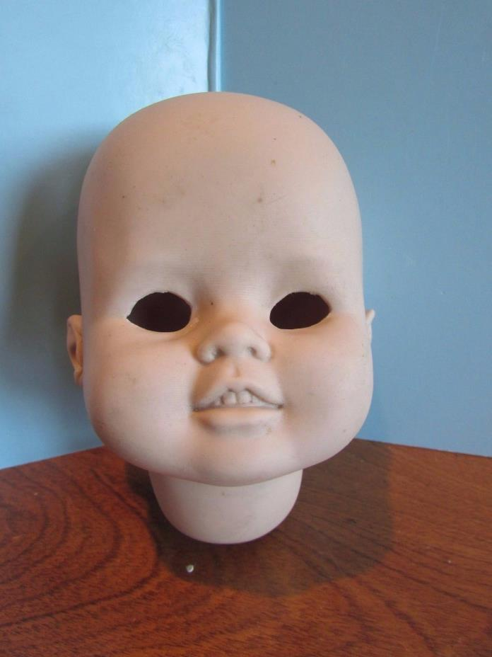 Vintage  BISQUE DOLL HEAD 5
