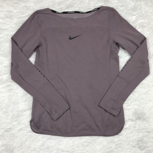 Nike Aeroreact Women's Running Activewear L/S Shirt Sz. S