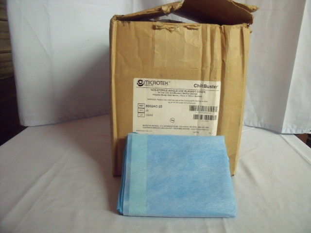 25 NEW MICROTEK CHILLBUSTER ELECTRIC BLANKET COVERS 8002AC-25! H1