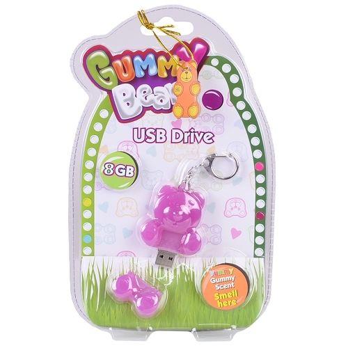 Gummy Bear USB Drive 8GB Purple