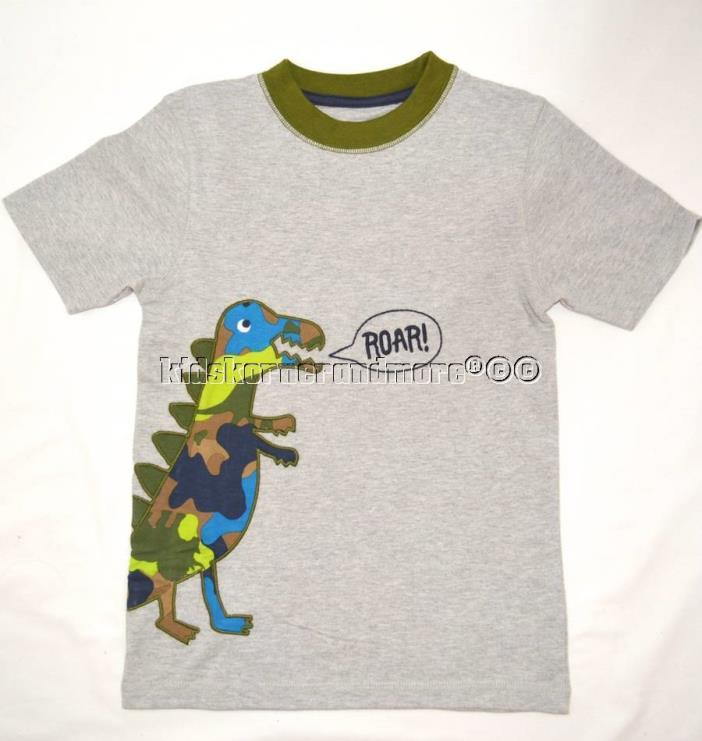 Gymboree Dino Day Camp Roar Dino Shirt 2T Boys New Camouflage Camo Roar!! twins