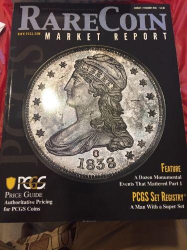 ? NEW PCGS Rare Coin Market Report Magazine February 2018 Price Guide