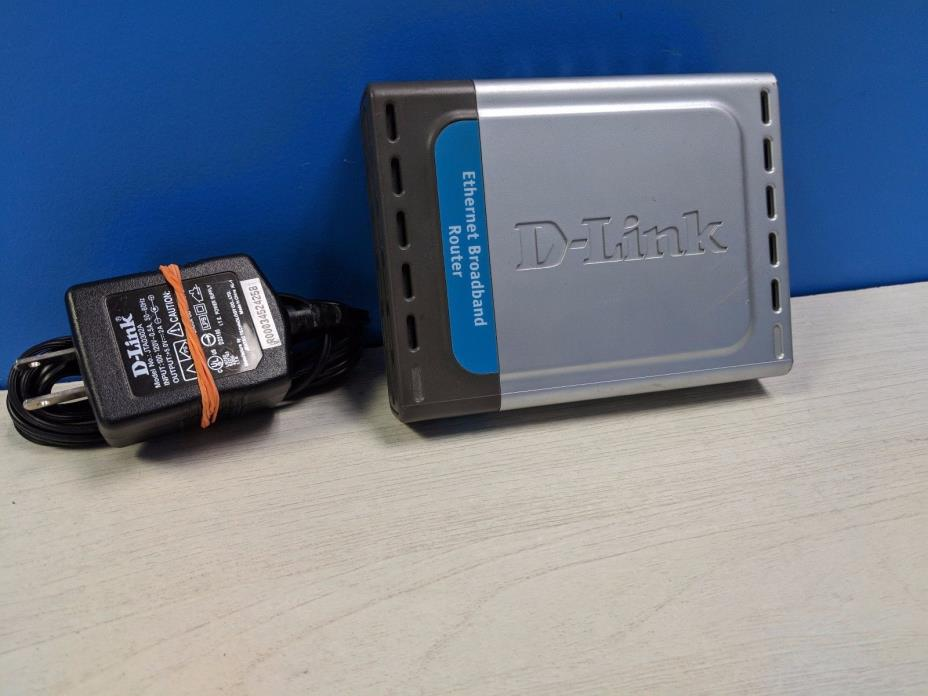 D-Link DI-604 4-Port 10/100 Wired Router