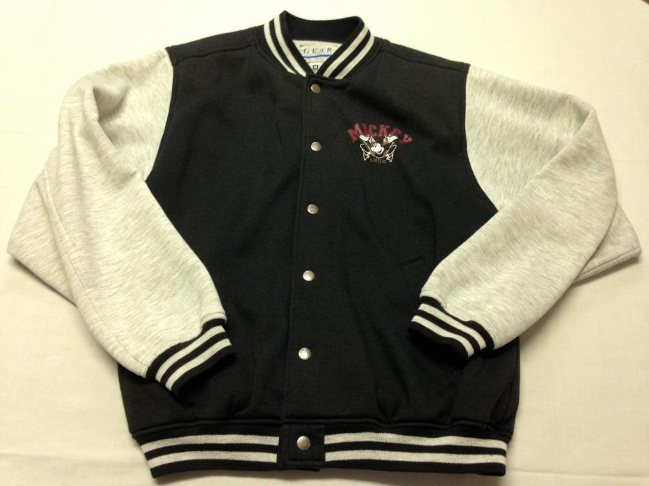 Mickey Mouse American Original Varsity Bomber Jacket Gear For Sports Men's M