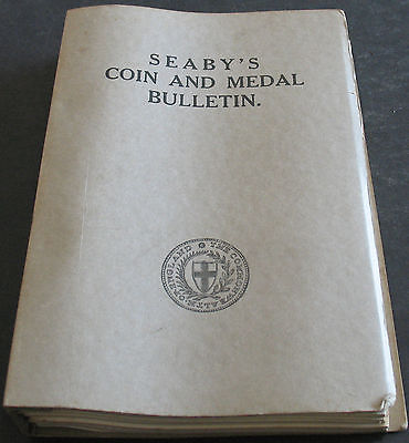 Seaby's Coin And Medal Bulletin 1965 Volume Scarce Collection Of Catalogs